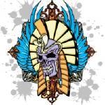 """""""Egyptian Skull"""" by steveshead"""