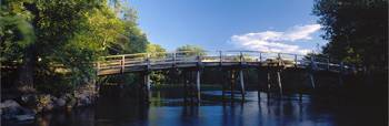 Old North Bridge in Concord, Massachusetts