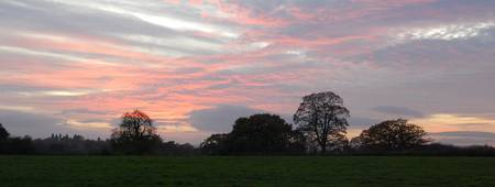 Sunset Over Ellesmere