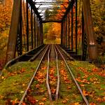 """""""Never the train shall meet."""" by thorinside"""