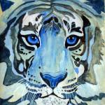 """Blue Tiger"" by PatriciaRivers"