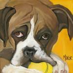 """Boxer"" by MichelleNoe"