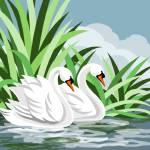 """Mute Swan Painting"" by waterart"