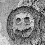 """""Creepy""  ""Carving of Face in a Beech Tree"""" by agwagon2000"