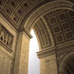 """Underneath the Arc de Triomphe"" by bekahpaige"