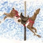 """LaMancha Carousel Goat"" by tnpcraft"