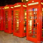 """Four Red Phoneboxes"" by simonevanbergen"