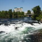 """Spokane Falls 6/24/06"" by Karlos2121"
