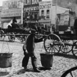 """Carrying Supplies, San Francisco, c1870"" by worldwidearchive"