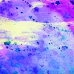 """Blue, Purple and Pink Abstract Watercolor"" by rozine"