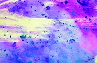 Blue, Purple and Pink Abstract Watercolor