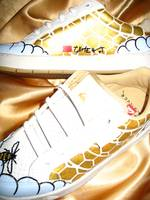 The golden honeycomb no.1, customized sports shoe