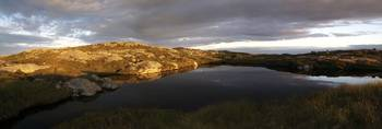 Lochan on South Harris
