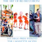 """I Love a Pride Parade Poster By RD Riccoboni"" by BeaconArtWorksCorporation"