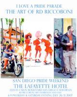 I Love a Pride Parade Poster By RD Riccoboni