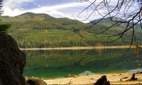 Lake Cle Elum In Fall #1