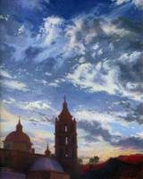 Alamos at Twilight