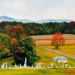 """""Salem Cemetery in October"""" by fieldsendart"