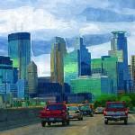 """""""35W Skyline"""" by tommyrey"""