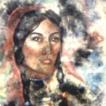 """Native American Woman"" by allinghamcarlson"