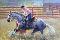Rodeo Series: Barrel Racer