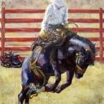 """Rodeo Series- Bronc Rider"" by TerryStanley"