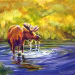 """Bullwinkle of Yellowstone"" by TerryStanley"