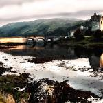 """eileen-donan-castle-scotland-16x24"" by sacorivergraphics"