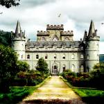 """inverray-castle-scotland-lg-18x24"" by sacorivergraphics"