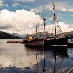 """inverray-harbor-scotland"" by sacorivergraphics"