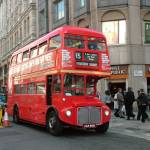 """London Routemaster Bus - The Strand"" by bespokepix"