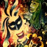 """Masquerade"" by waynejonesart"