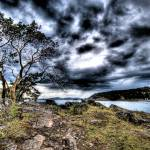 """Squall Over the Gulf Islands"" by tobysnelgrove"