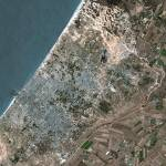"""Gaza (Palestinian Territory) : Satellite Image"" by astriumgeo"