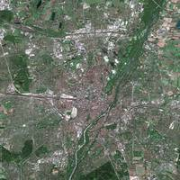 Munich (Germany) : Satellite Image