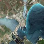 """Burgas (Bulgaria) : Satellite Image"" by astriumgeo"