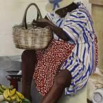 """Caribbean Fruit Seller"" by brianflemingsgallery"