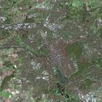 """Hanover (Germany) : Satellite image"" by astriumgeo"