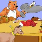 """Bear Feast"" by codemanwacco"