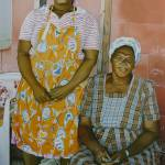 """""""Two Caribbean Women"""" by brianflemingsgallery"""