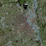 """Bordeaux (France) : Satellite Image"" by astriumgeo"