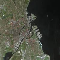 Copenhague (Denmark) : Satellite Image