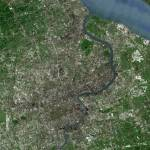 """Shangai (China) : Satellite Image"" by astriumgeo"