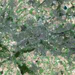 """Lens (France) : Satellite Image"" by astriumgeo"