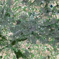 Lens (France) : Satellite Image