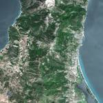 """Bastia (France) : Satellite Image"" by astriumgeo"