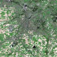 Douai (France) : Satellite Image