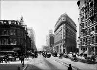 Market Street viewing West, San Francisco by WorldWide Archive