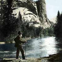 John Muir in Yosemitee Valley Art Prints & Posters by WorldWide Archive