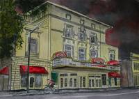 Lucas Theatre Savannah GA art